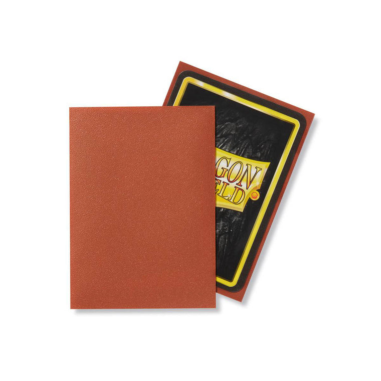 Dragon Shield Sleeves Matte Copper 100CT Standard Size