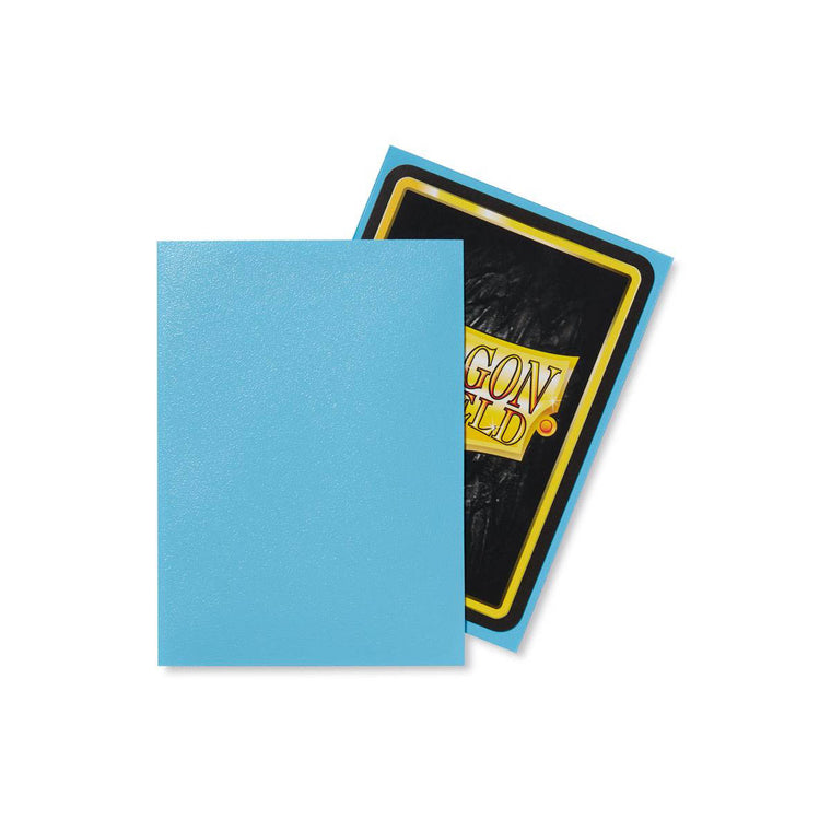 Dragon Shield Sleeves Matte Baby Blue 100CT Standard Size