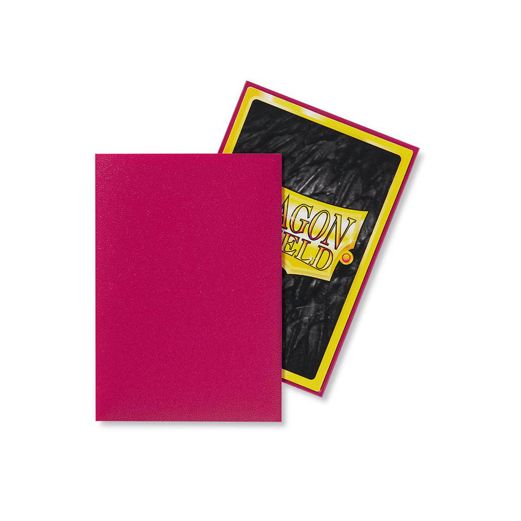 Dragon Shield Sleeves Matte Magenta 60CT Japanese Size