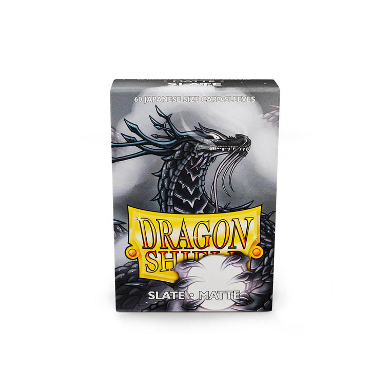 Dragon Shield Sleeves Matte Slate 60CT Japanese Size