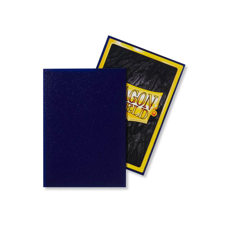 Dragon Shield Sleeves Matte Night Blue 100CT Standard Size