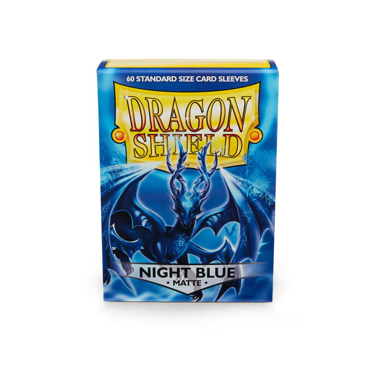 Dragon Shield Sleeves Matte Night Blue 60CT Standard Size