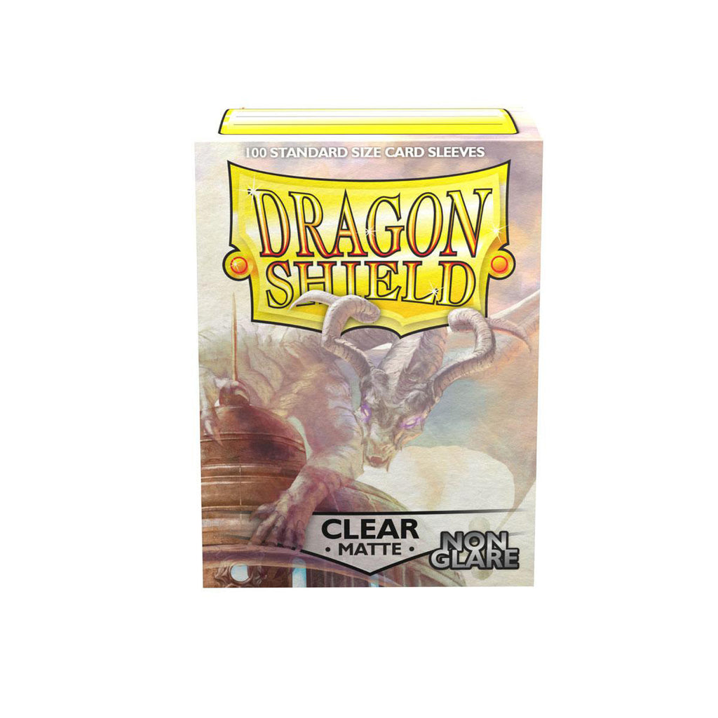 Dragon Shield Sleeves Matte Clear Non-Glare 100CT Standard Size