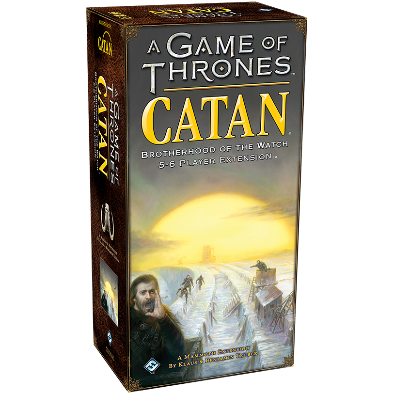 A Game of Thrones Catan Brotherhood of the Watch 5-6 Player Extension