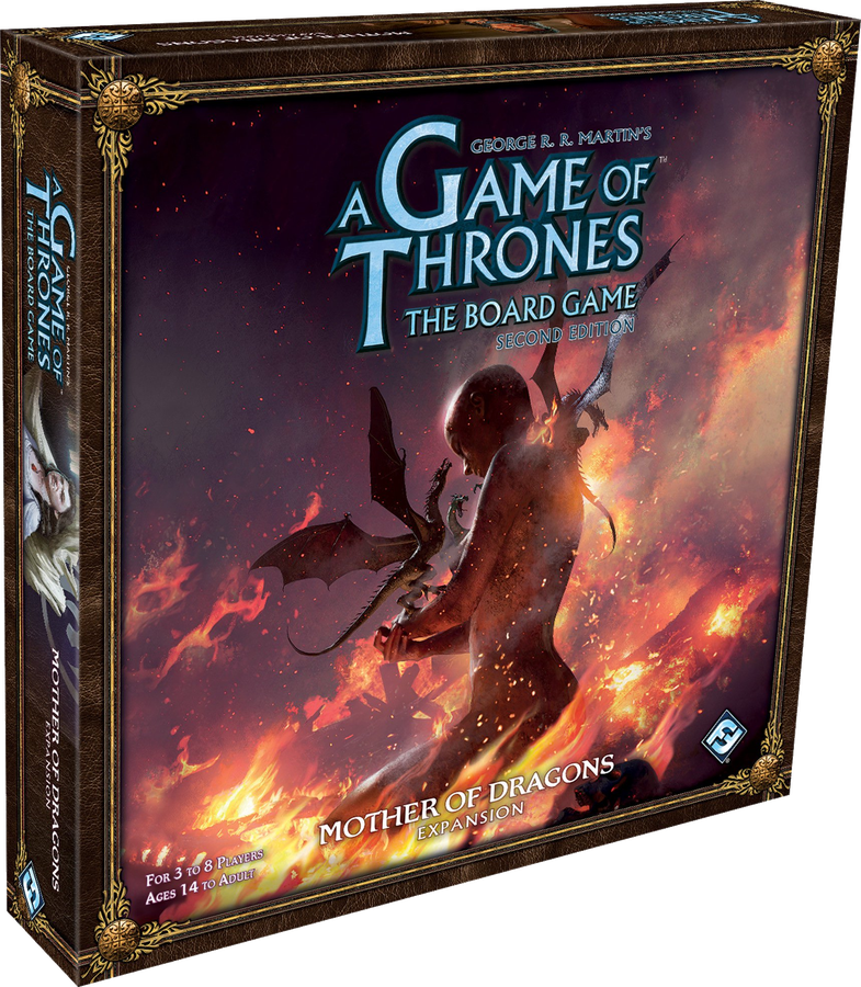 A Game of Thrones The Board Game 2nd Edition Mother of Dragons