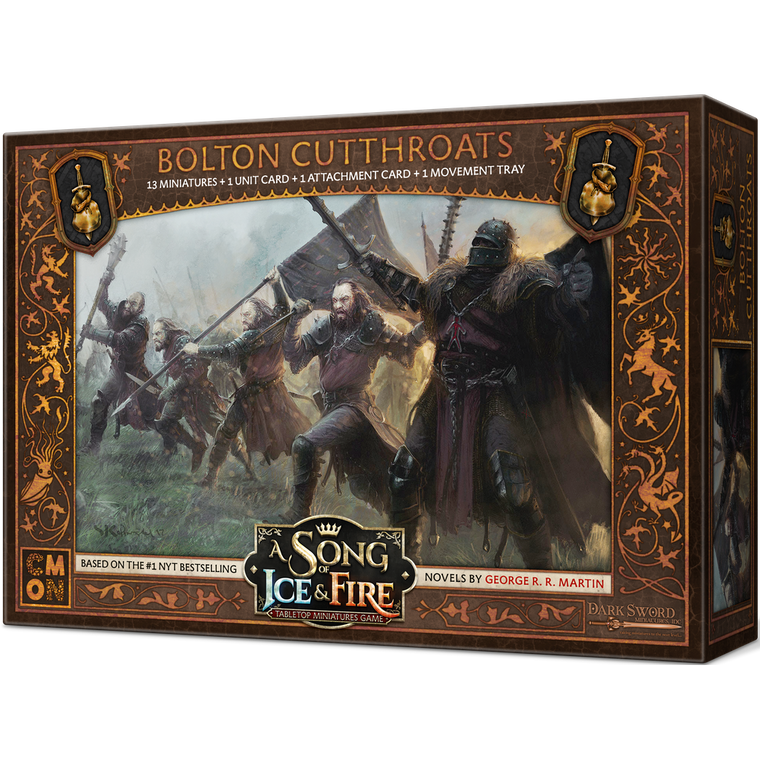 PRE-ORDER A Song of Ice & Fire Bolton Cutthroats