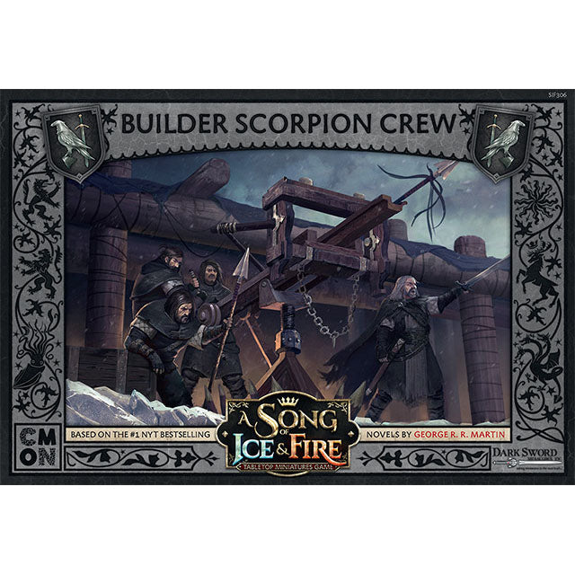 PRE-ORDER A Song of Ice & Fire Builder Scorpion Crew