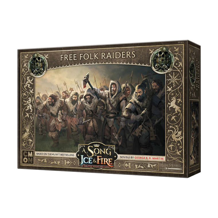 PRE-ORDER A Song of Ice & Fire Free Folk Raiders