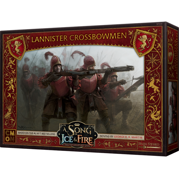 PRE-ORDER A Song of Ice & Fire Lannister Crossbowmen