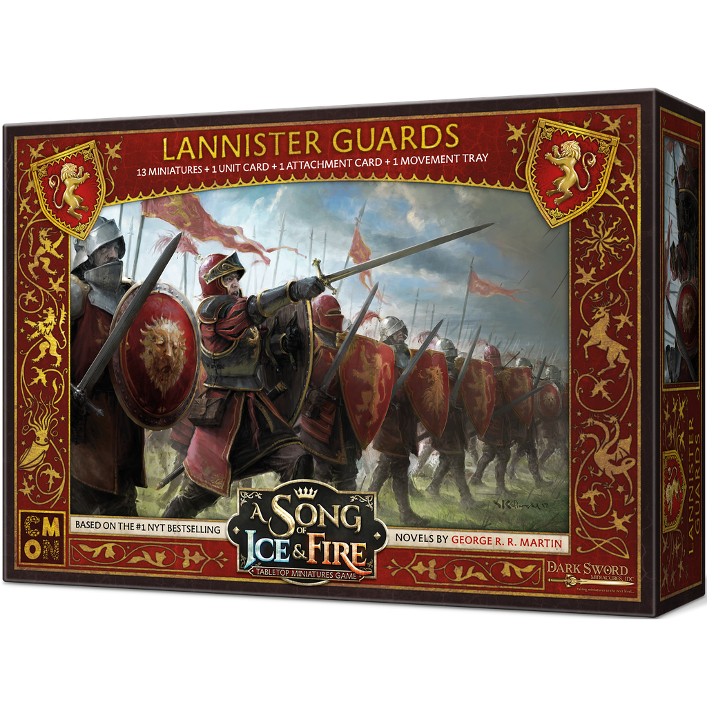 A Song of Ice & Fire Lannister Guards