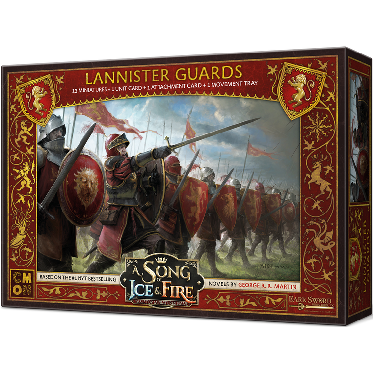 PRE-ORDER A Song of Ice & Fire Lannister Guards