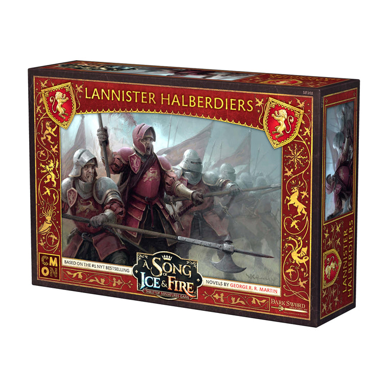 PRE-ORDER A Song of Ice & Fire Lannister Halberdiers