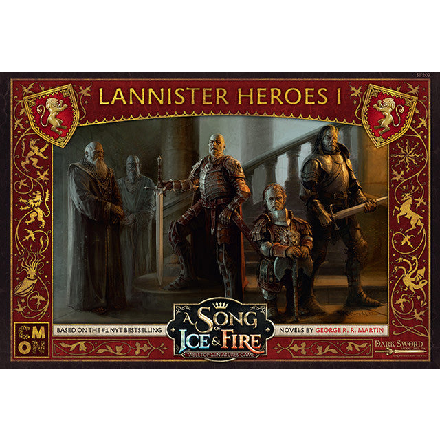 PRE-ORDER A Song of Ice & Fire Lannister Lannister Heroes 1