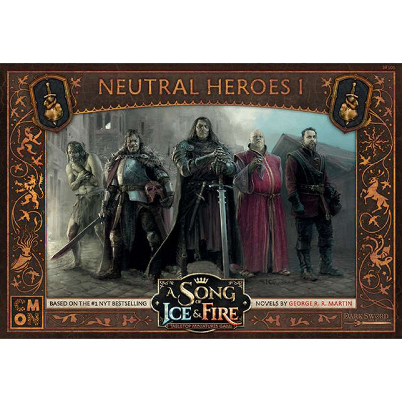 A Song of Ice & Fire Lannister Neutral Heroes 1