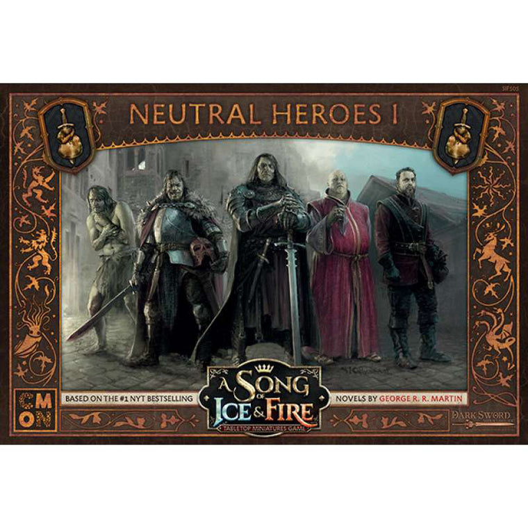 PRE-ORDER A Song of Ice & Fire Lannister Neutral Heroes 1