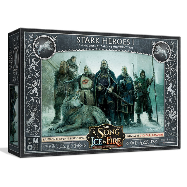 PRE-ORDER A Song of Ice & Fire Stark Heroes 1