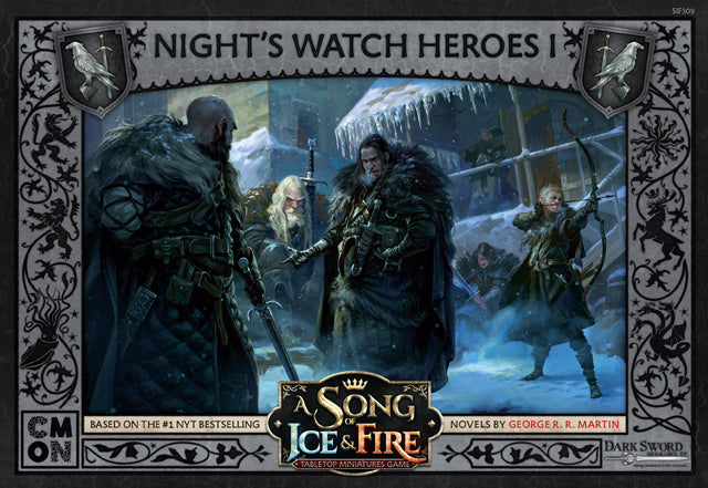 A Song of Ice & Fire Night's Watch Heroes Box 1