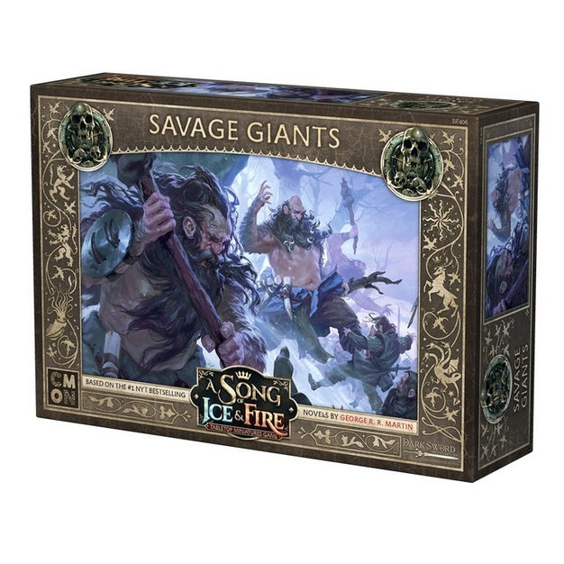 PRE-ORDER A Song of Ice & Fire Savage Giants