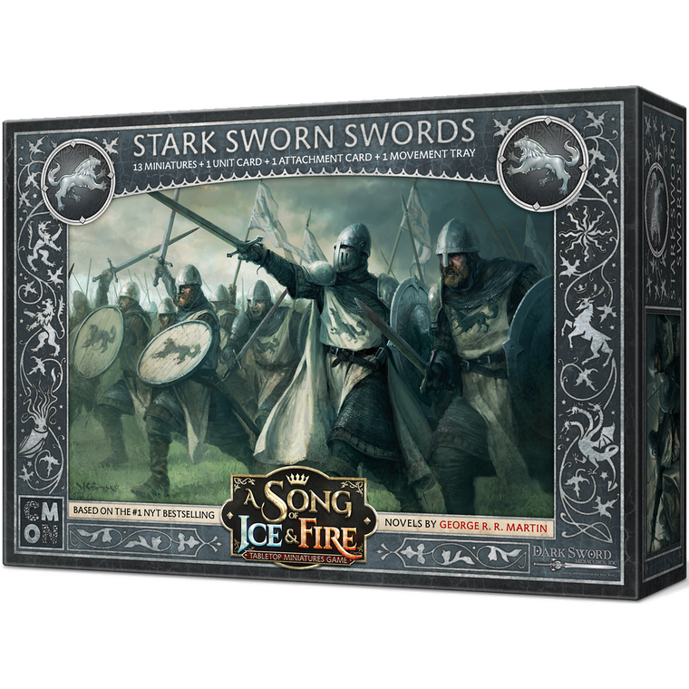 PRE-ORDER A Song of Ice & Fire Stark Sworn Swords