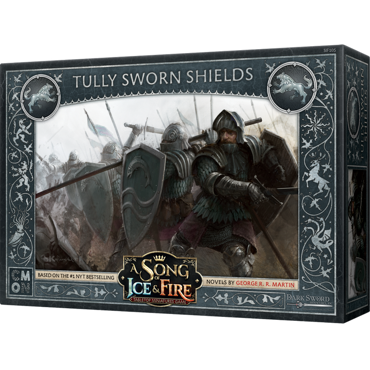 PRE-ORDER A Song of Ice & Fire Tully Sworn Shields
