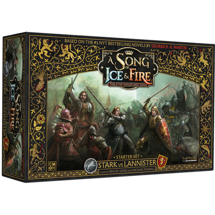 PRE-ORDER A Song of Ice & Fire Stark vs Lannister Starter Set
