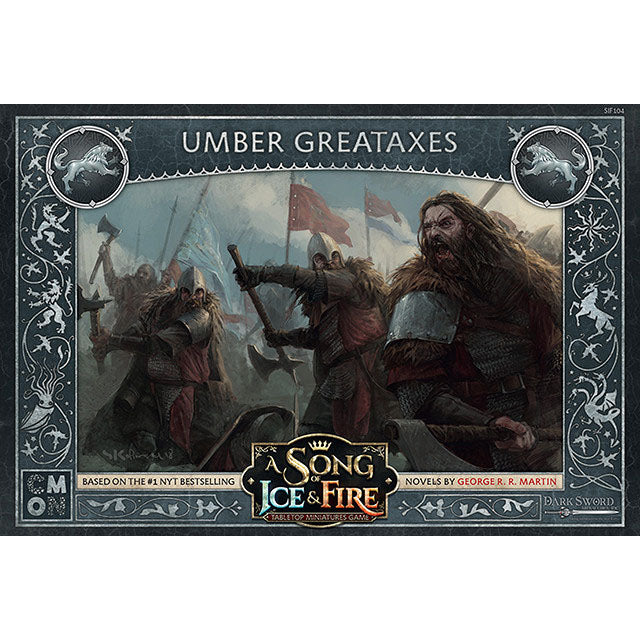 PRE-ORDER A Song of Ice & Fire Umber Greataxes