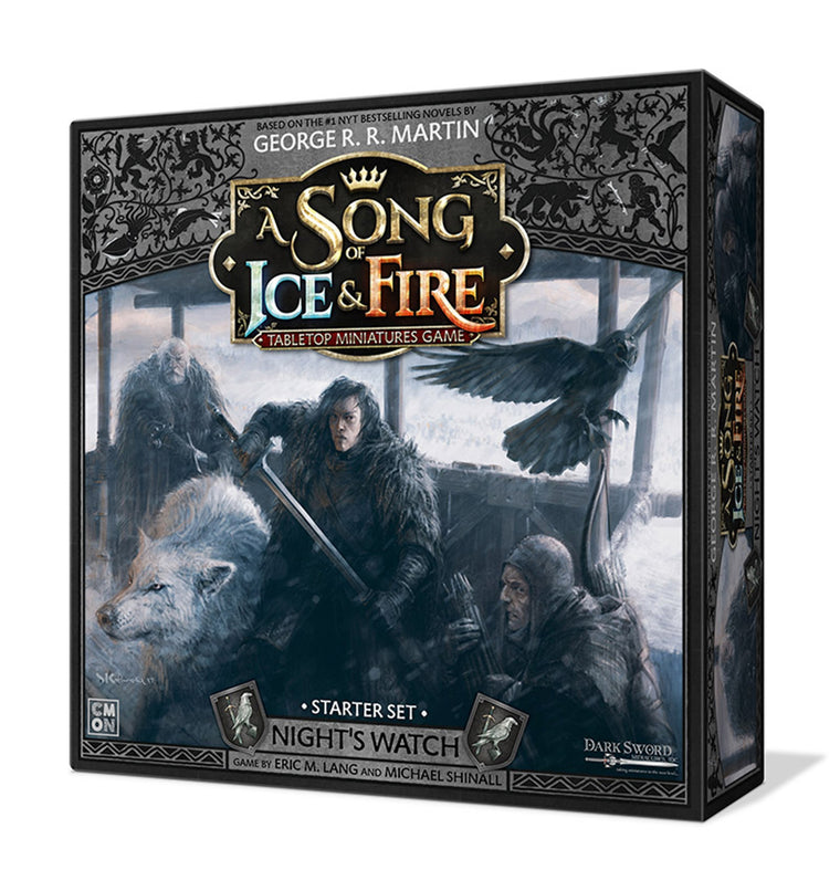 PRE-ORDER A Song of Ice & Fire Night's Watch Starter Set