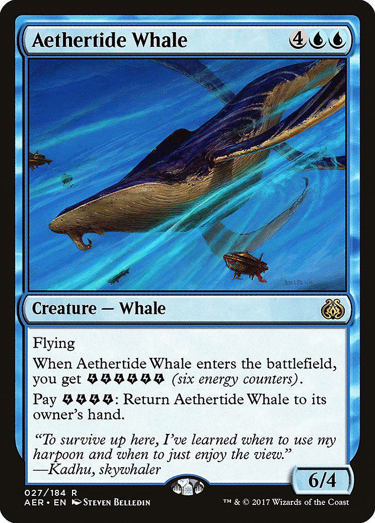 Aether Revolt Aethertide Whale