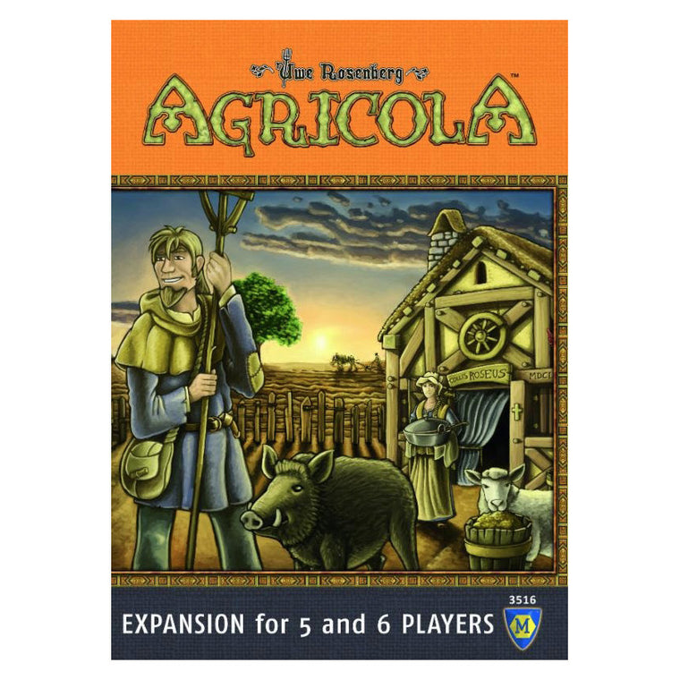 Agricola 5 and 6 Players Expansion