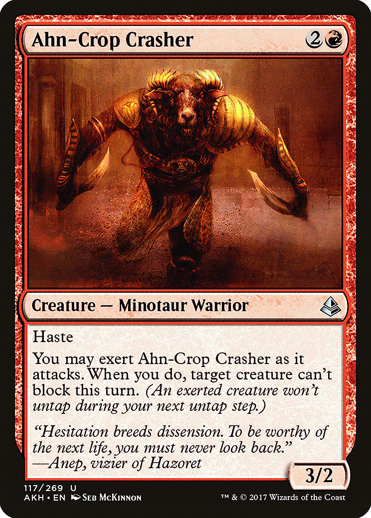 Amonkhet Ahn-Crop Crasher