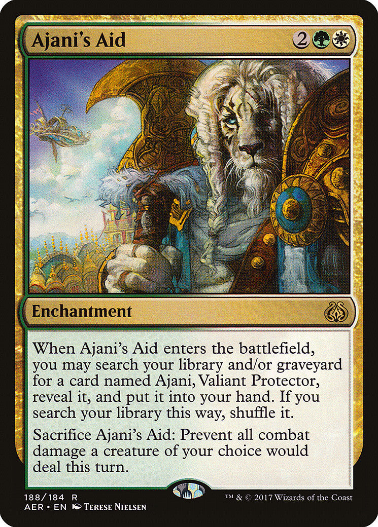 Aether Revolt Ajani's Aid