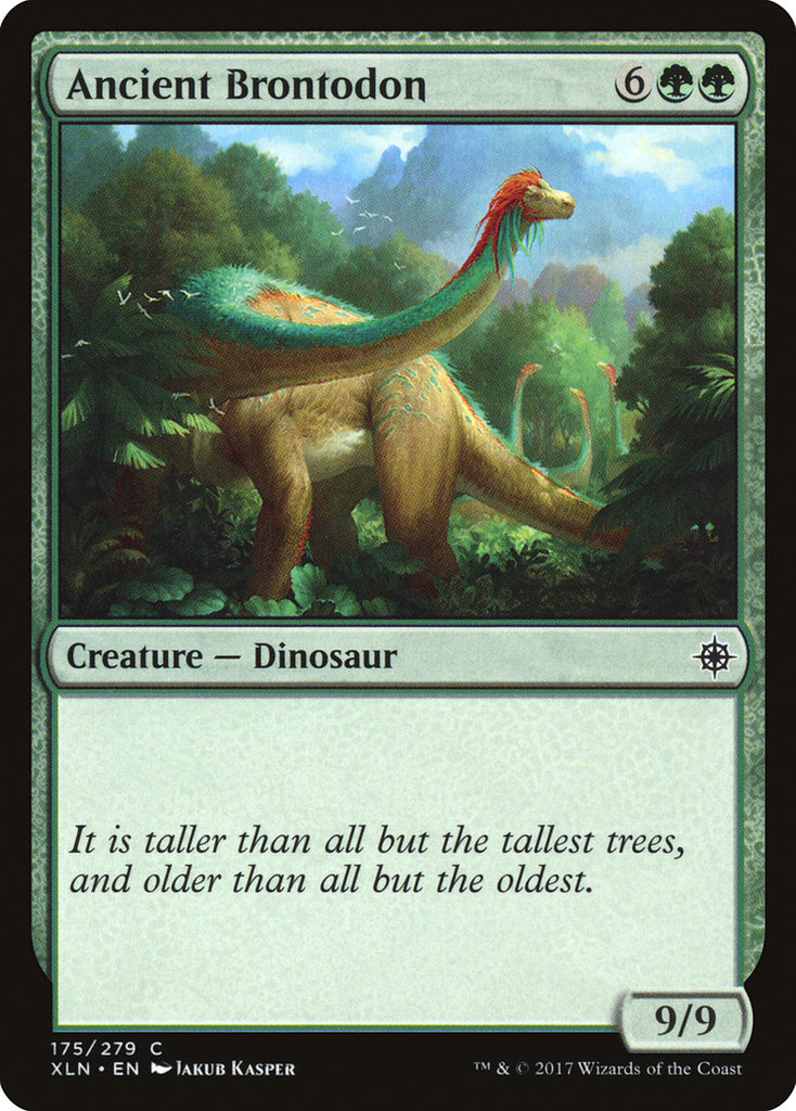 Ixalan Ancient Brontodon