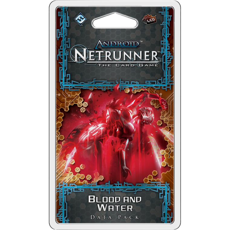 Android Netrunner LCG Blood and Water Data Pack