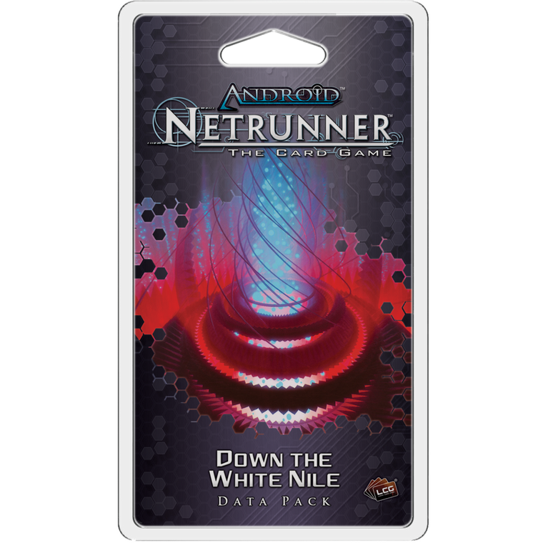 Android Netrunner LCG Down the White Nile