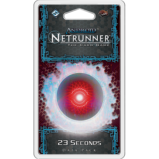 Android Netrunner LCG 23 Seconds Data Pack