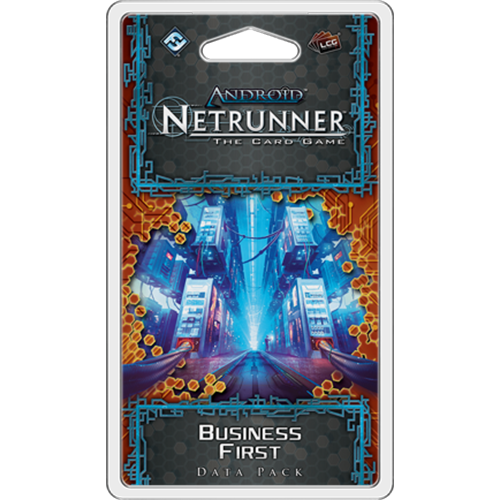 Android Netrunner LCG Business First Data Pack