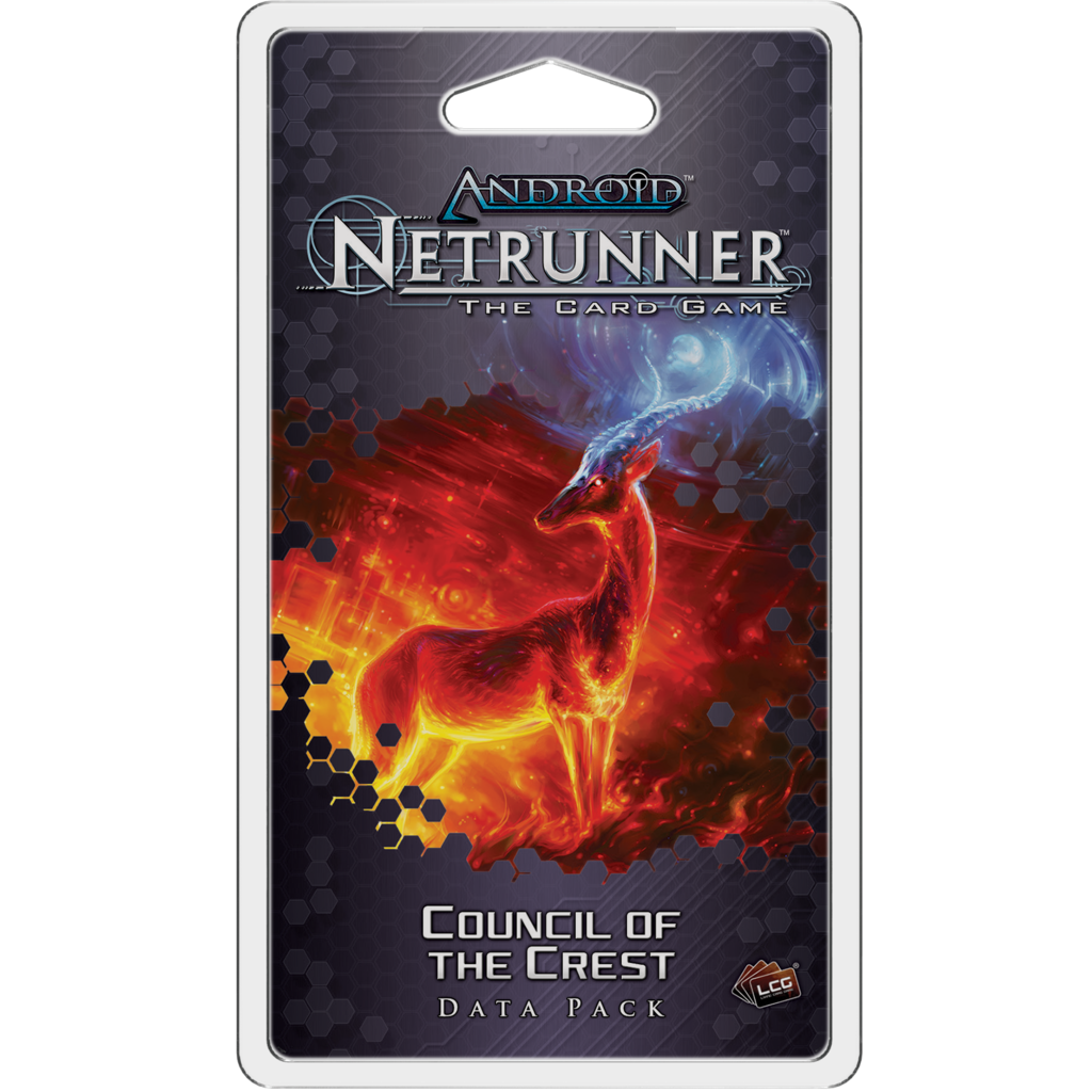 Android Netrunner LCG Council of the Crest Data Pack