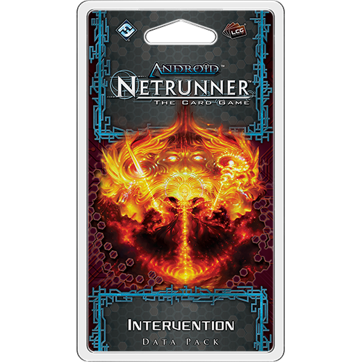 Android Netrunner LCG Intervention Data Pack