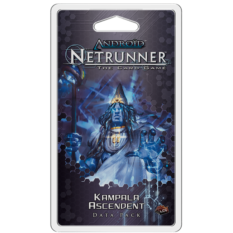 Android Netrunner LCG Kampala Ascendent Data Pack