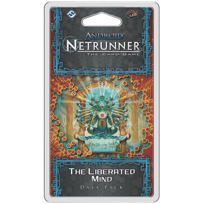 Android Netrunner LCG The Liberated Mind Data Pack