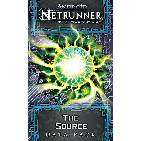Android Netrunner LCG The Source Data Pack