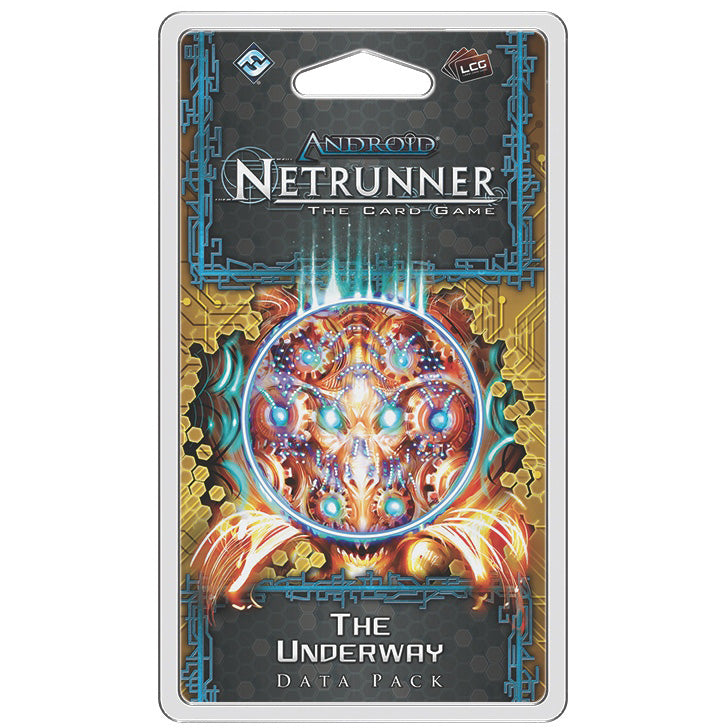 Android Netrunner LCG The Underway Data Pack