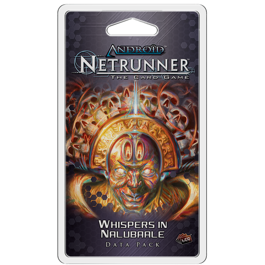 Android Netrunner LCG Whispers in Nalubaale Data Pack
