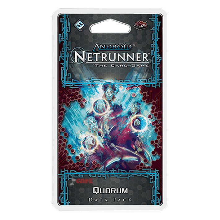 Android Netrunner LCG Quorum Data Pack