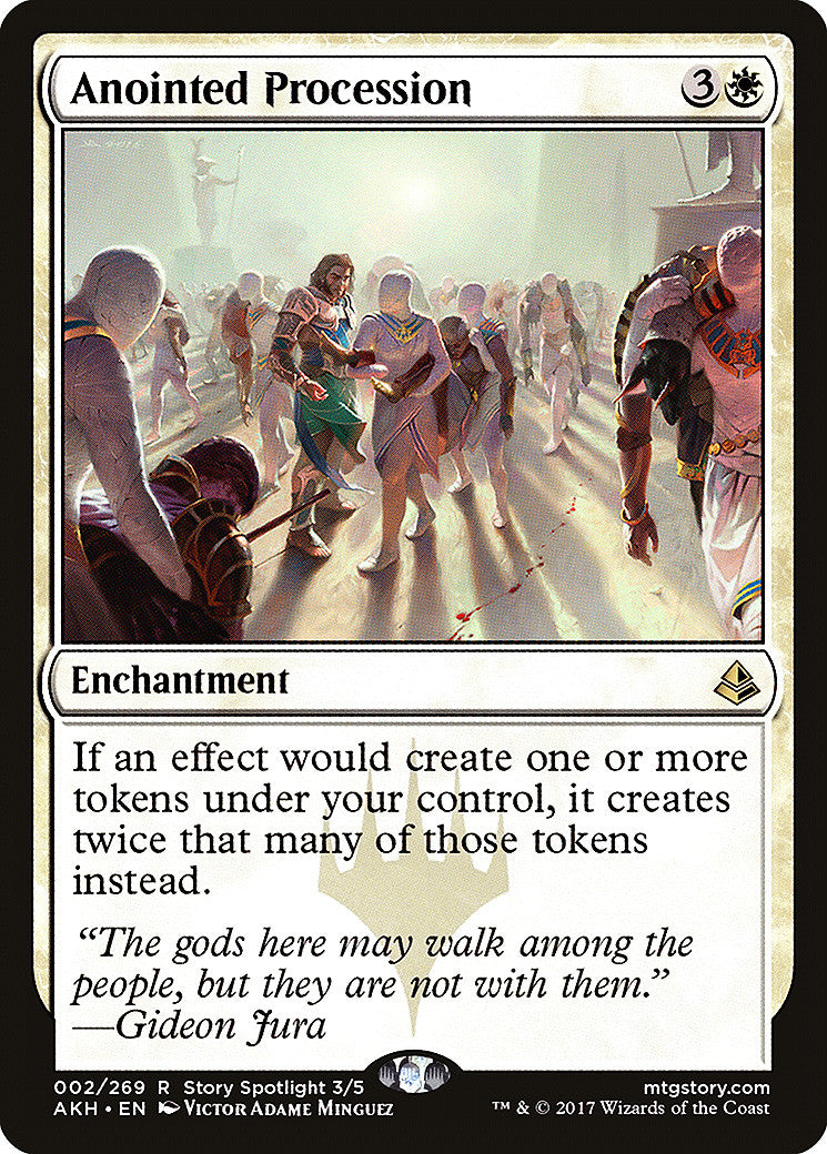 Amonkhet Anointed Procession FOIL
