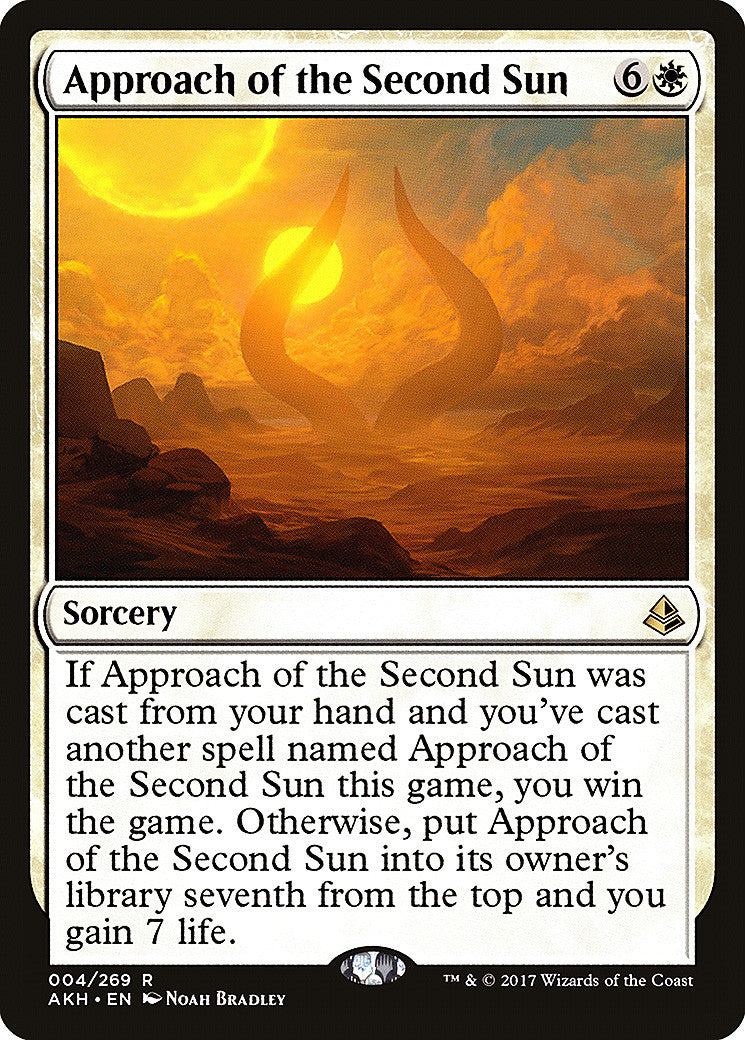 Amonkhet Approach of the Second Sun