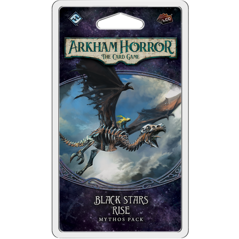 Arkham Horror LCG Black Stars Rise Mythos Pack