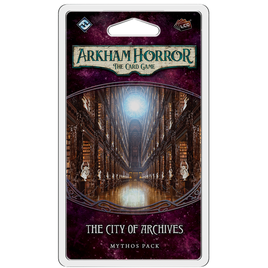 Arkham Horror LCG The City of Archives Mythos Pack