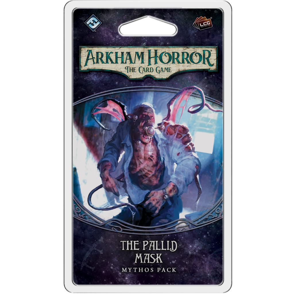 Arkham Horror LCG The Pallid Mask Mythos Pack