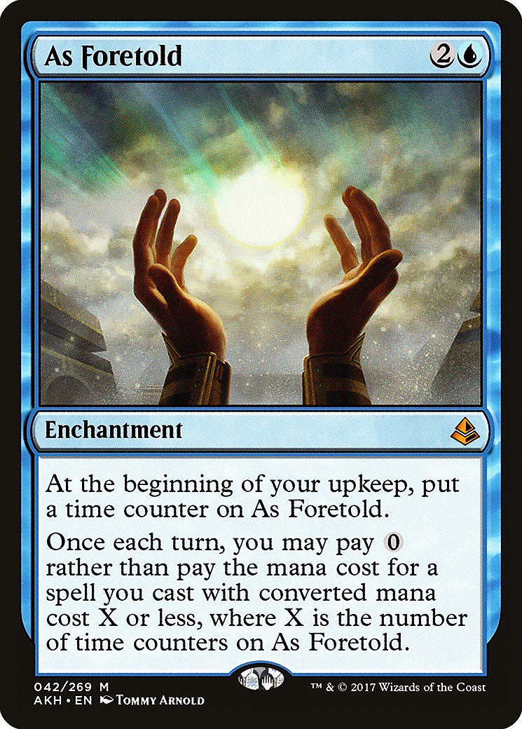 Amonkhet As Foretold FOIL